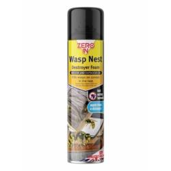 Zero In Wasp Nest Killer Foam 300ml Aerosol