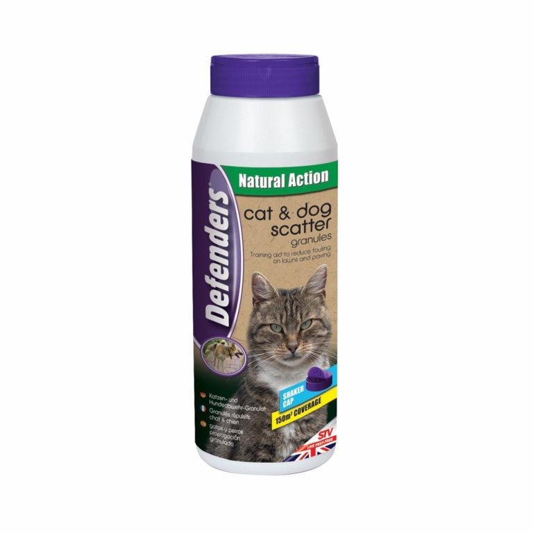 Defenders Cat & Dog Scatter Granules - 450g