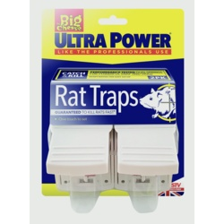The Big Cheese Ultra Power Rat Traps Twin Pack