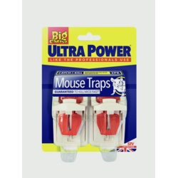 The Big Cheese Ultra Power Mouse Traps Twin Pack