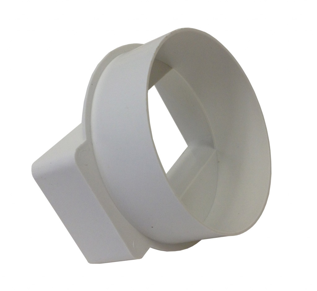 Manrose Adapter Rectangle/Round Male