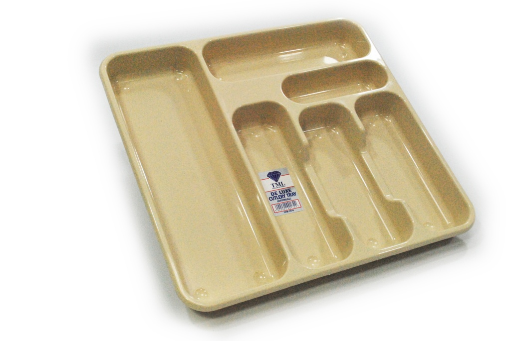 TML Large Cutlery Tray - Oatmeal