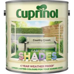 Cuprinol Garden Shades 2.5L Country Cream
