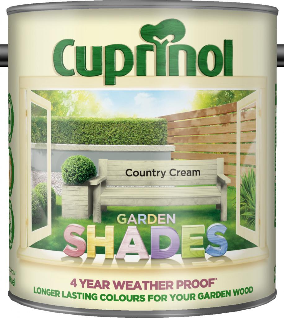 Cuprinol Garden Shades 2.5L - Country Cream