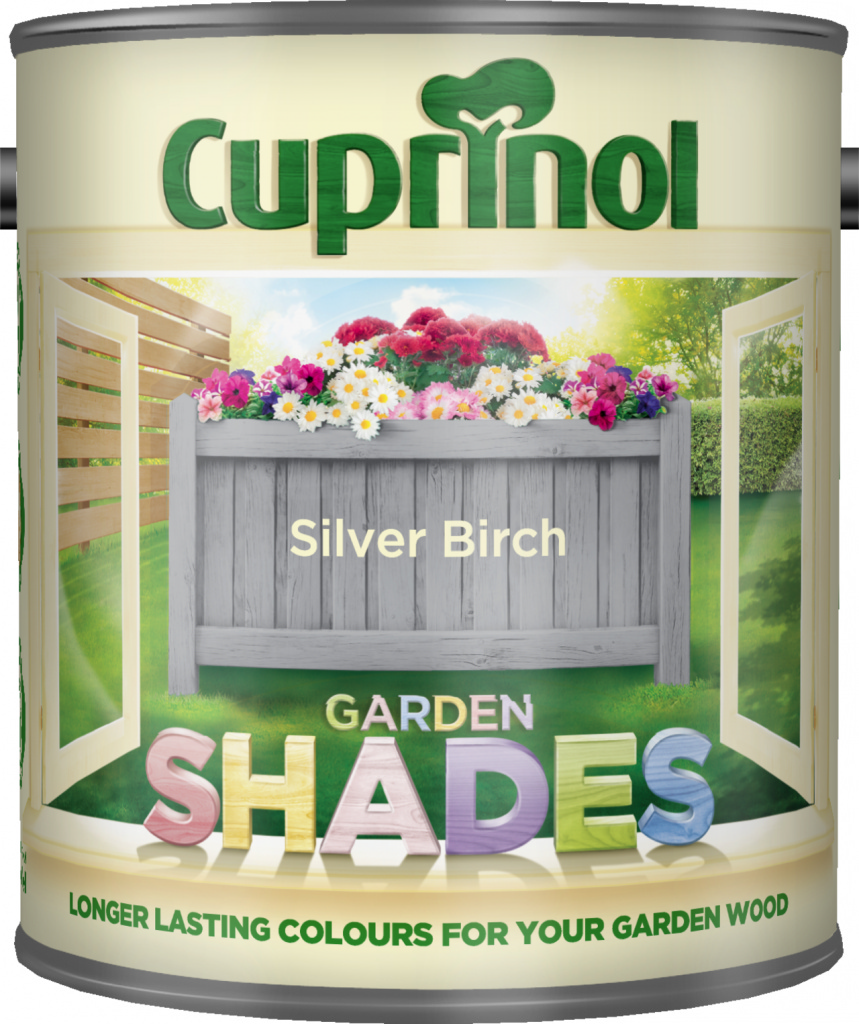 Cuprinol Garden Shades 1L - Silver Birch