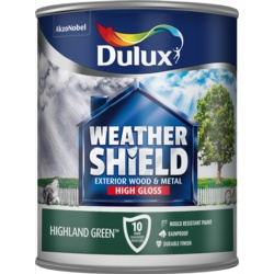 Dulux Weathershield Exterior Gloss 750ml Highland Green
