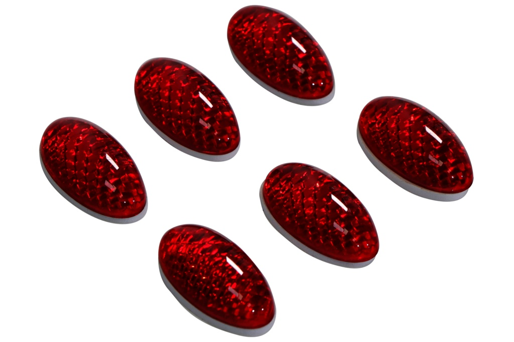Streetwize Red Reflectors