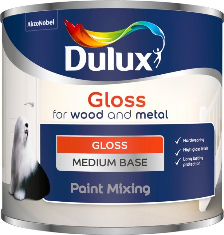 Dulux Colour Mixing Gloss Base 500ml - Medium