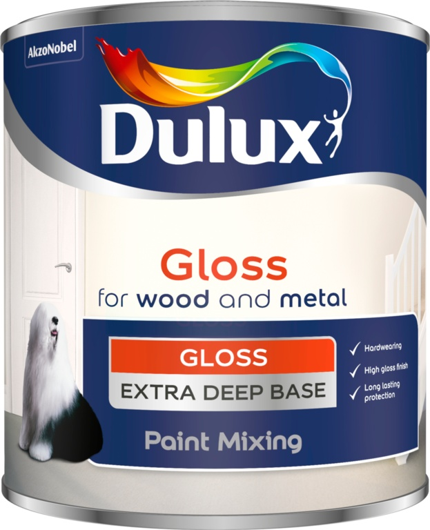 Dulux Colour Mixing Gloss Base 1L - Extra Deep