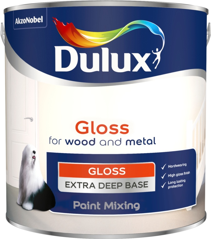 Dulux Colour Mixing Gloss Base 2.5L - Extra Deep