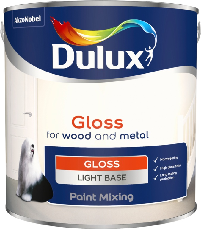 Dulux Colour Mixing Gloss Base 2.5L - Light