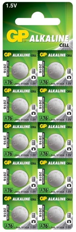 GP Alkaline C10 - LR44