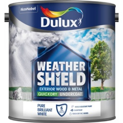 Dulux Weathershield Quick Dry Undercoat 2.5L Pure Brilliant