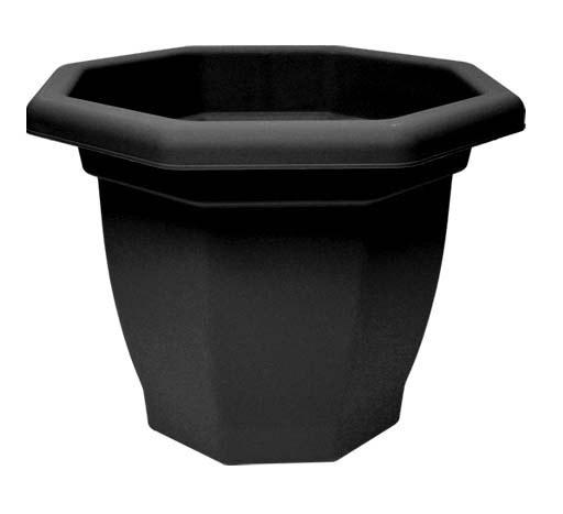 Thumbs Up Octaganol Bell Pot - 36cm Ebony