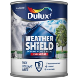 Dulux Weathershield Exterior Quick Dry Gloss 750ml