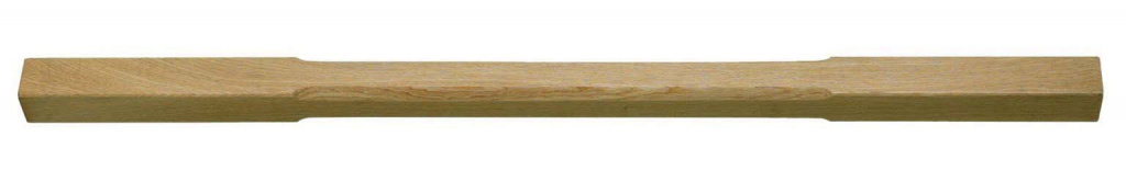 Cheshire Mouldings Oak Stop Chamfered Spindle - 41 x 895