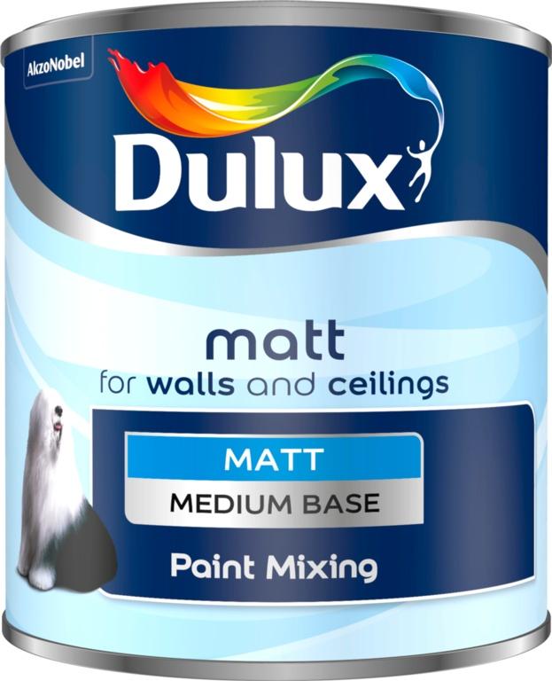 Dulux Colour Mixing Matt Base 1L - Medium