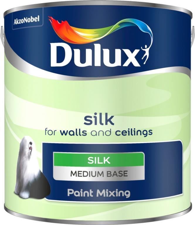 Dulux Colour Mixing Silk Base 2.5L - Medium