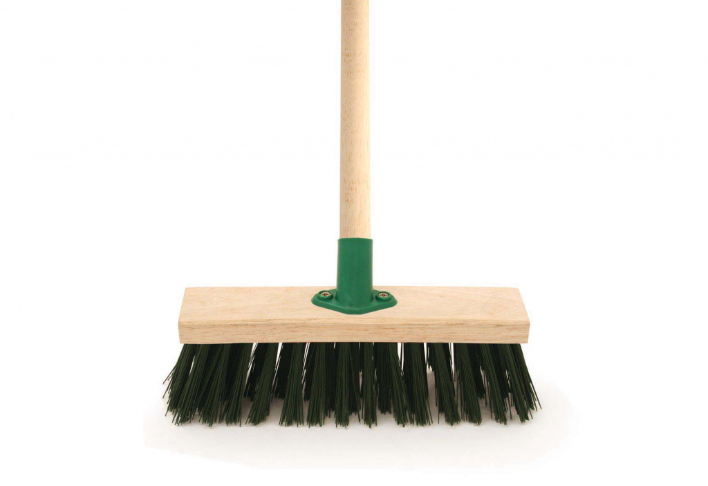 Bentley Green PVC Brush & Handle - 11""