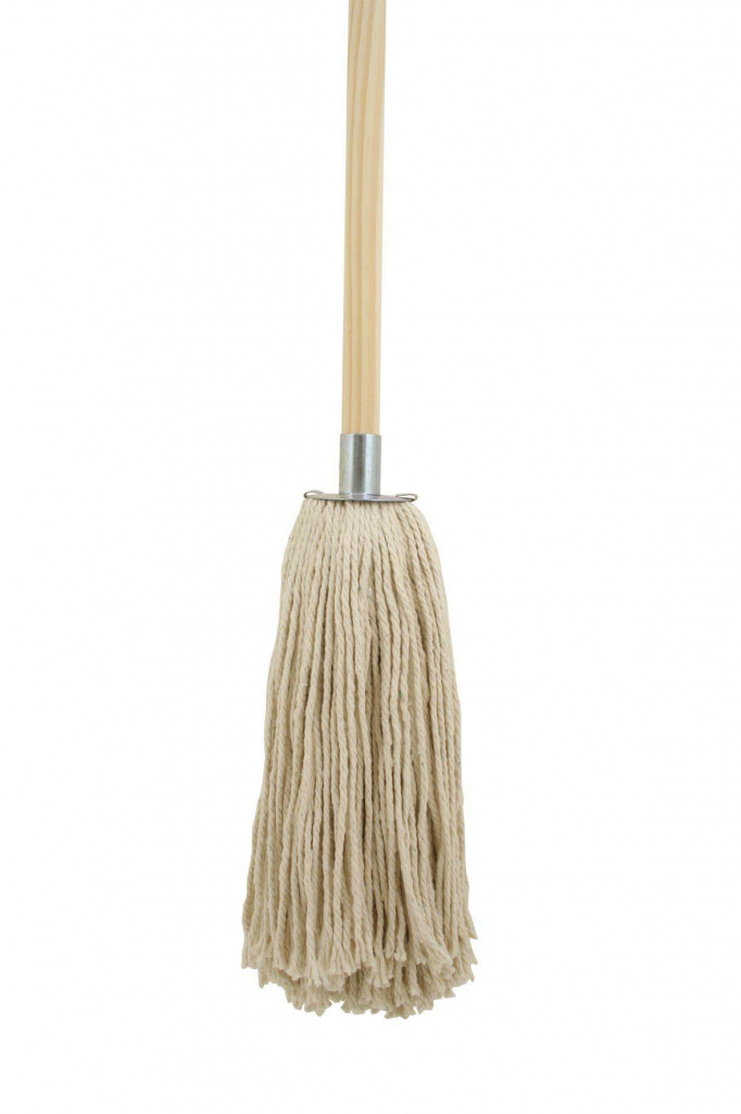 Bentley Cotton Mop & Wooden Handle - 12oz