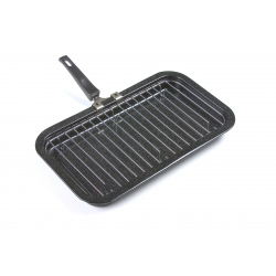 Falcon Black Enamel Grill Pan