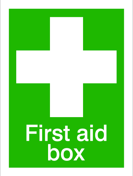 House Nameplate Co First Aid Box - 15x20cm