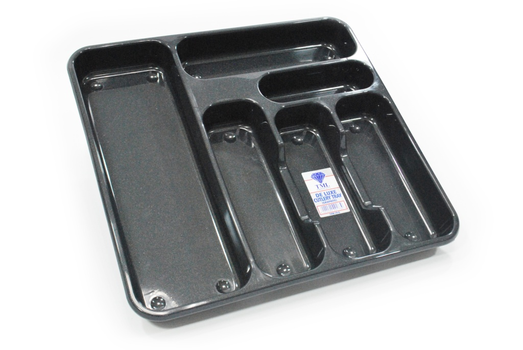 TML Large Cutlery Tray - Graphite