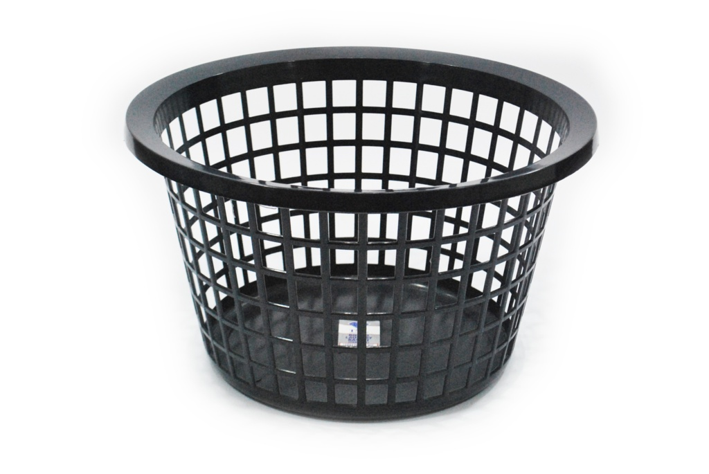 TML Round Laundry Basket - Graphite