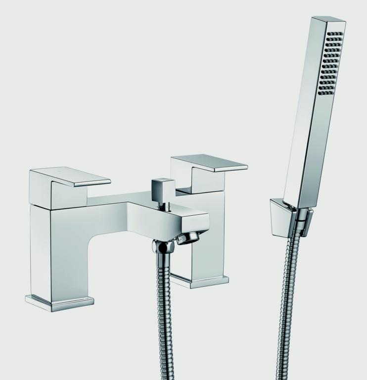 SP Ellen Bath Shower Mixer Tap - W 228mm H 120mm D 143mm
