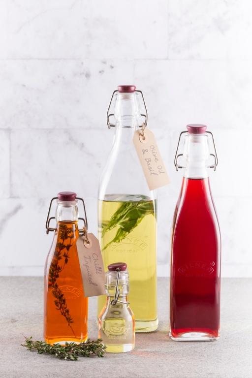 Kilner Clip Top Preserve Bottle - 1L