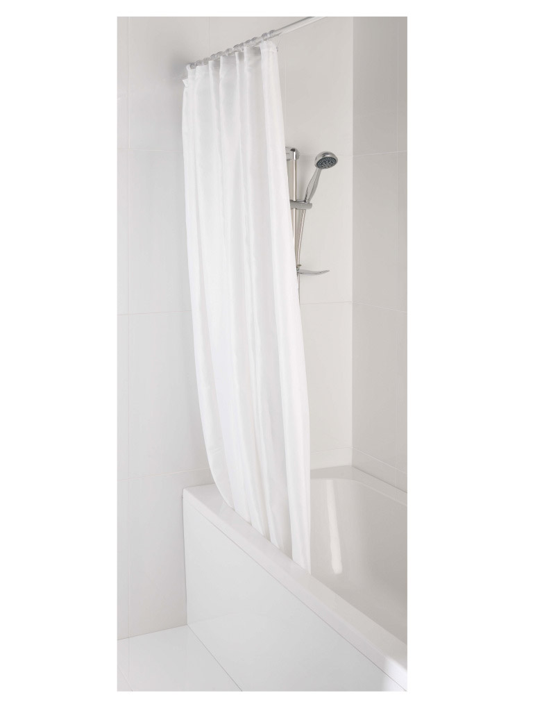 MX 100% Polyester Shower Curtain - 1800 x 1800
