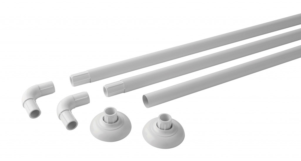 MX Luxury Modular Rail Polished White