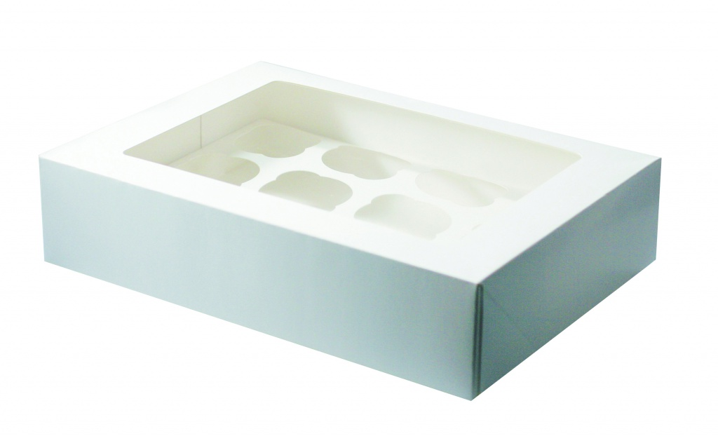 Culpitt White Cupcake Box