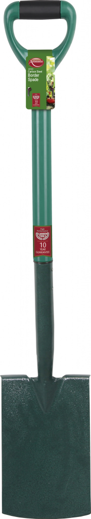 Ambassador Carbon Steel Border Spade - Length: 93cm