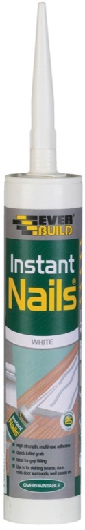Everbuild Instant Nails - C3 | White