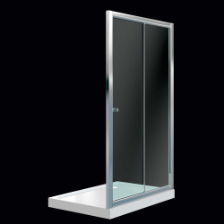 SupaPlumb Sliding Shower Door
