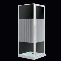 SupaPlumb Pivot Door Shower Enclosure
