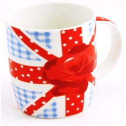 Sabichi British Rose Mug