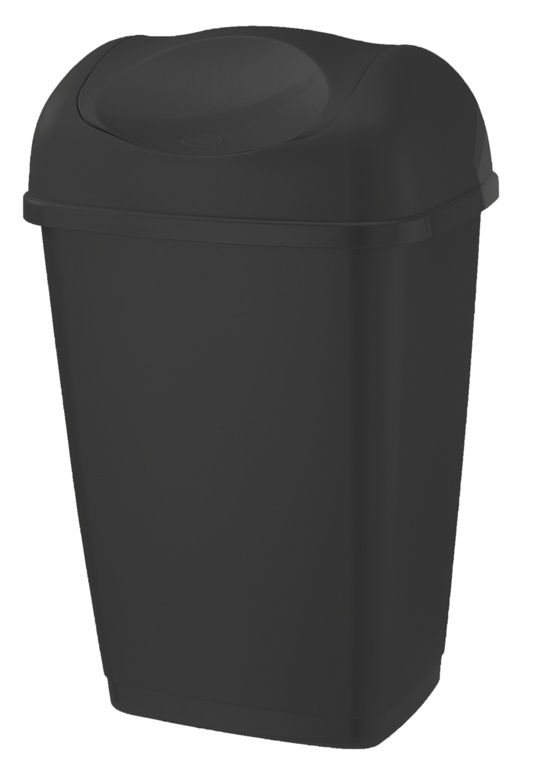 Tontarelli Swing Top Bin 50L - Black