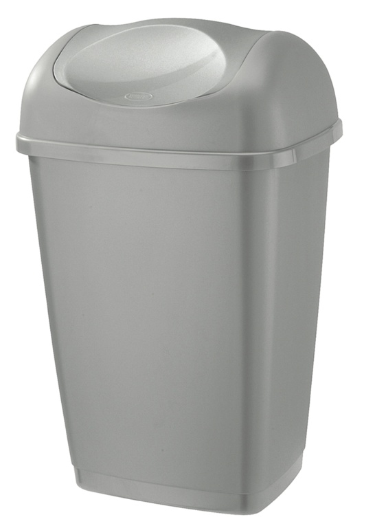 Tontarelli Swing Top Bin 50L - Platinum