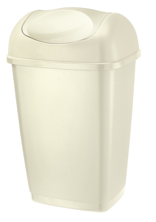 Tontarelli Swing Top Bin 50L - Cream