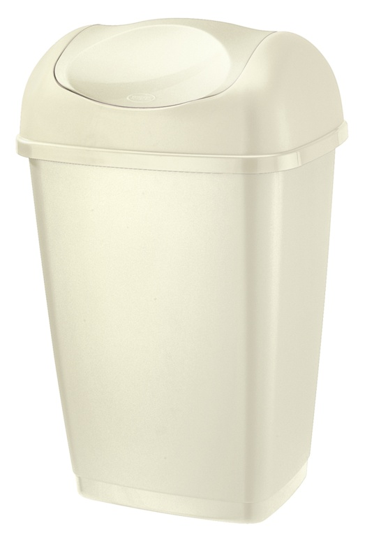 Tontarelli Swing Top Bin 25L - Cream