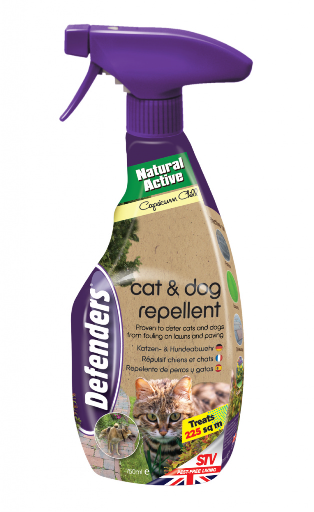 Defenders Cat & Dog Repeller - 750ml
