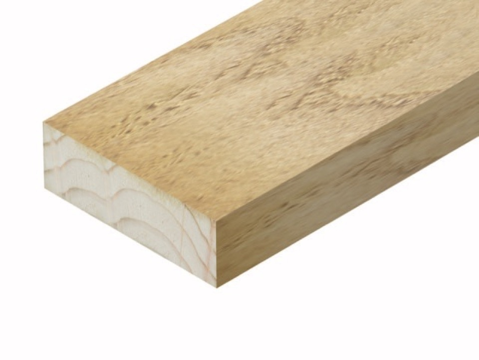 Cheshire Mouldings Decking Support - 47 x 150mm x 2.4m