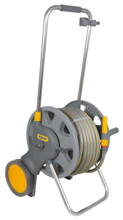 Hozelock Assembled Cart 50m MP Hose Fittings - 60m