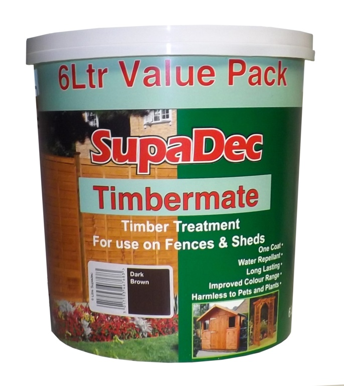 SupaDec Timbermate 5L - Red Cedar