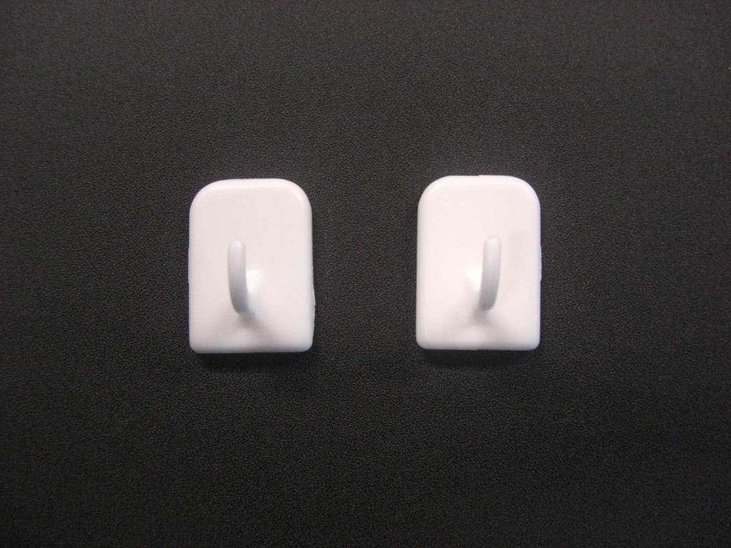 SupaDec Self Adhesive Centre Brackets - Pack of 2
