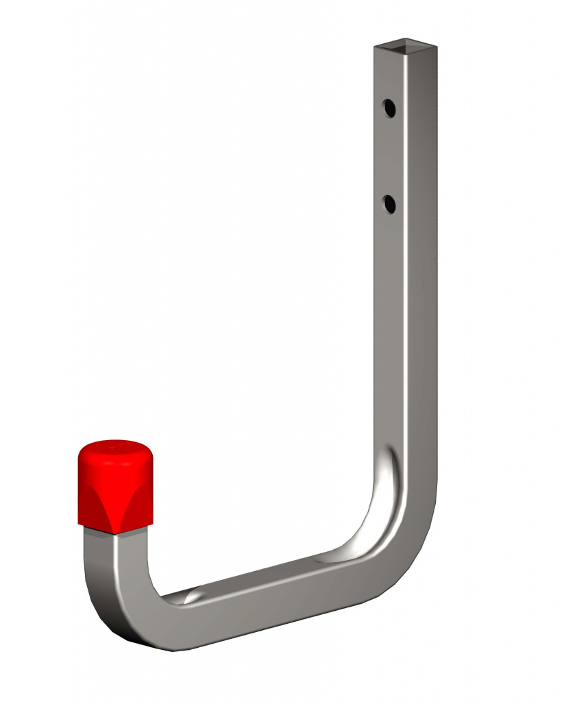 Alfer Wall Hook Galvanised Steel - 115mm