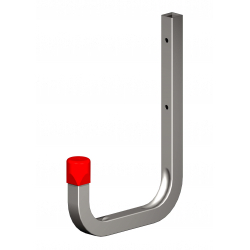Alfer Wall Hook Galvanised Steel 150mm