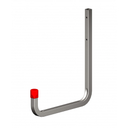 Alfer Wall Hook Galvanised Steel 250mm